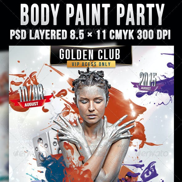 Body Paint Party
