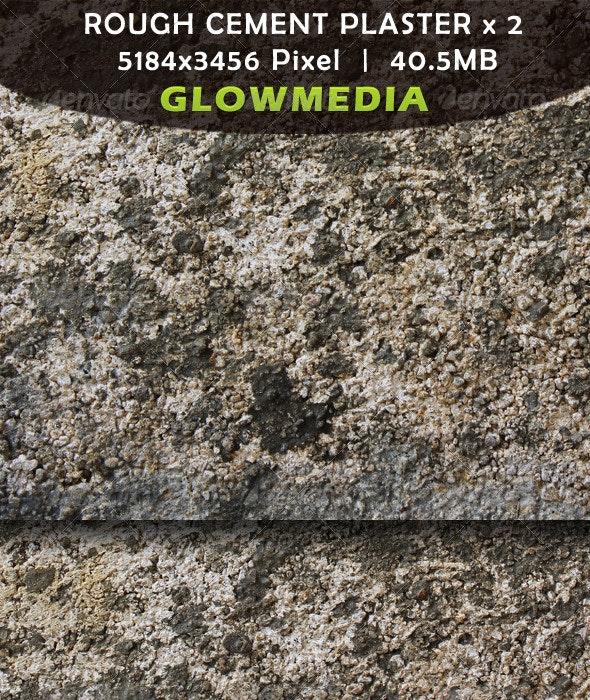 Rough Cement Plaster - Stone Textures