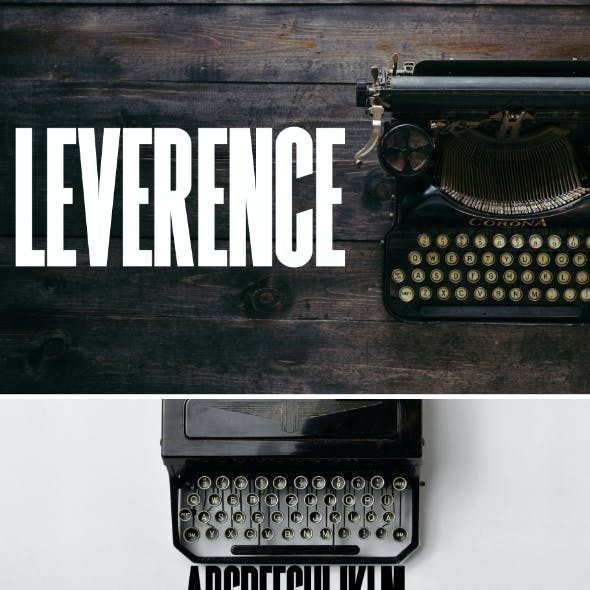 Leverence Font