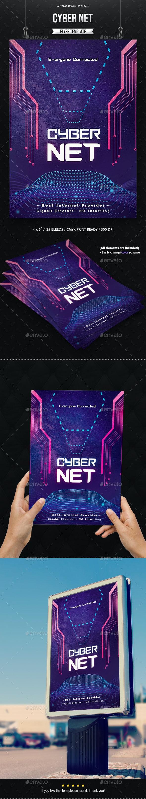 CyberNet - Flyer - Corporate Flyers