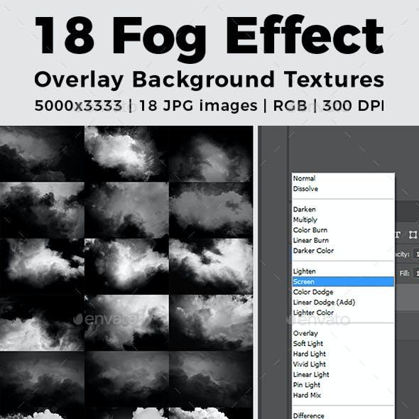 Fog Effect Overlay Background Textures