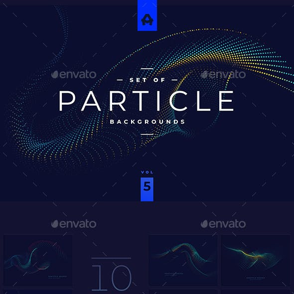 Particle Backgrounds vol 5