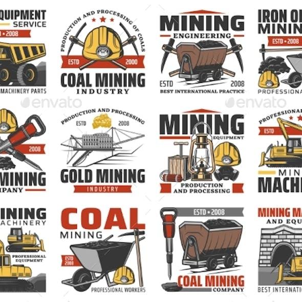 Coal Mine Industry, Equipment and Mining Machines
