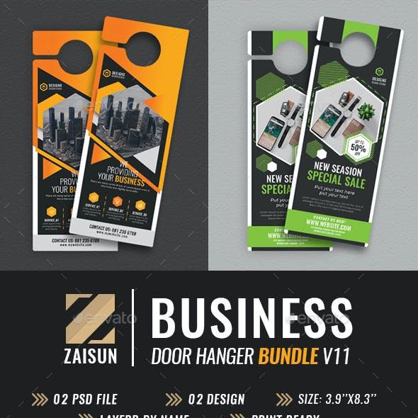 Business Door Hanger Bundle V11