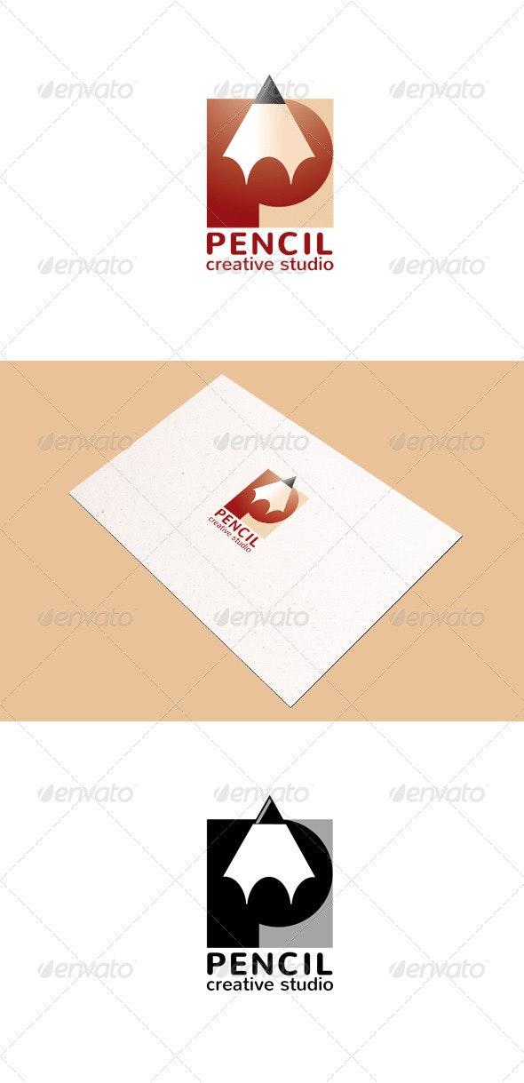 Pencil Creative Studio Logo Template - Objects Logo Templates