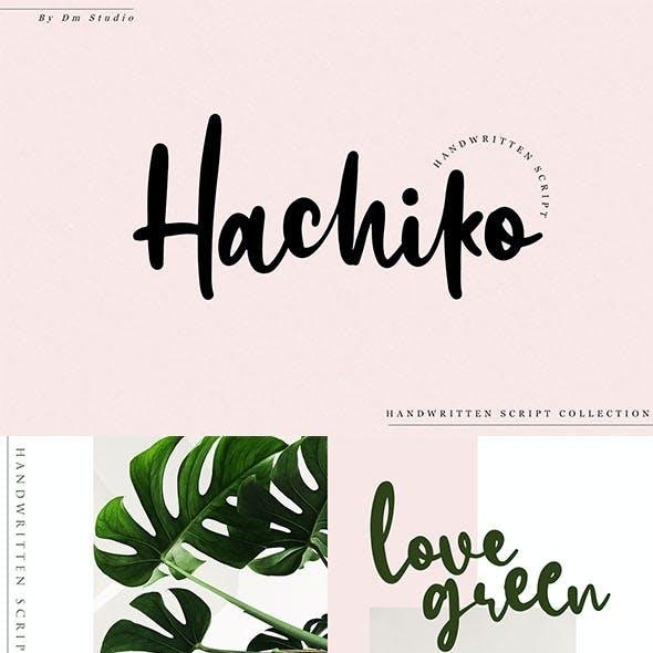Hachiko - Handwritten Font Script