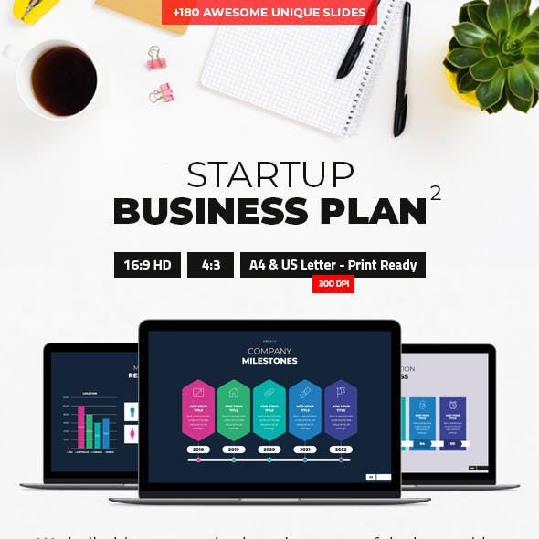 Startup Business Plan 2 PowerPoint Presentation Template