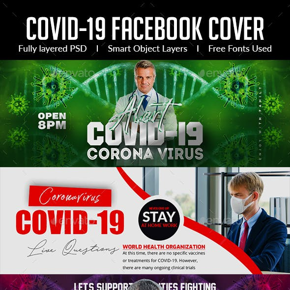 Covid 19 Facebook Cover