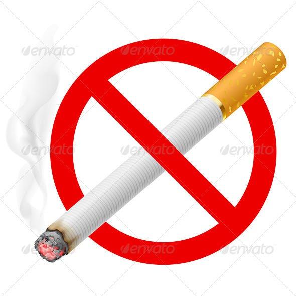 The Sign No Smoking