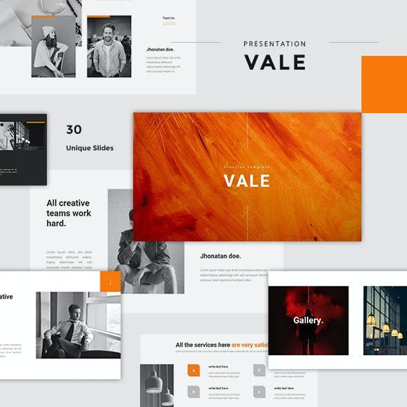 Vale - Creative Powerpoint