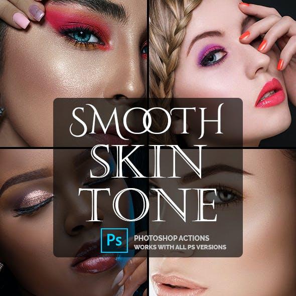 Smooth Skin Tone - Photoshop Action