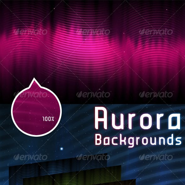 Aurora Background