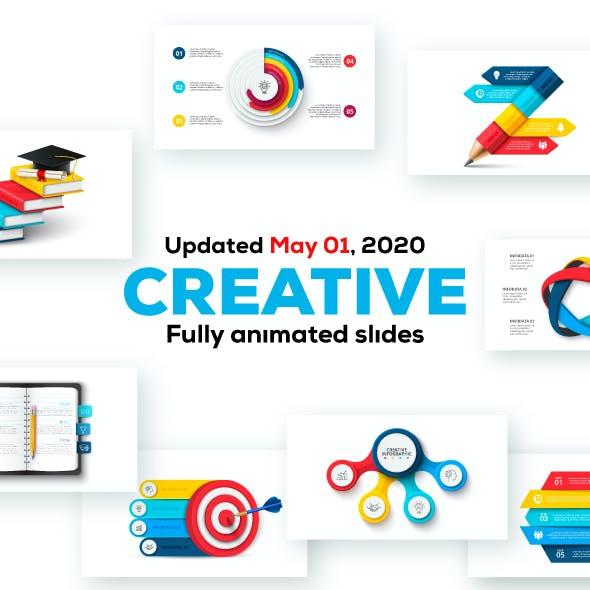 Creative Animated Infographic Presentations v.1.2