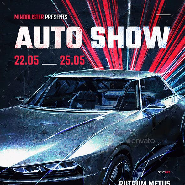 Auto Show Flyer/Poster