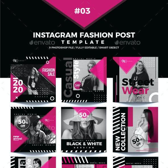 Instagram Post fashion Template 03