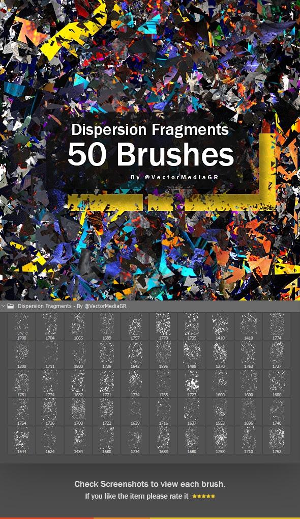 Dispersion Fragments - Photoshop Brushes - Artistic Brushes