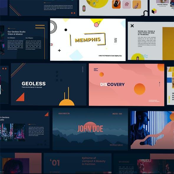Waywee Creative Business Bundle Vol 2 Google Slides