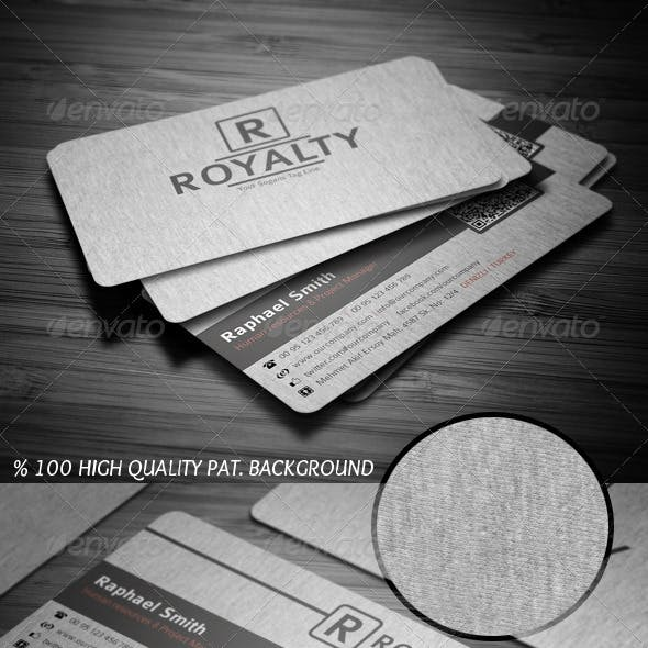 Canvas Business Card