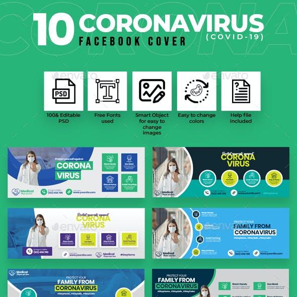 Covid-19 & Coronavirus 10 Facebook Cover