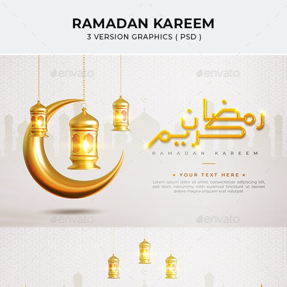 Ramadan 3d Render