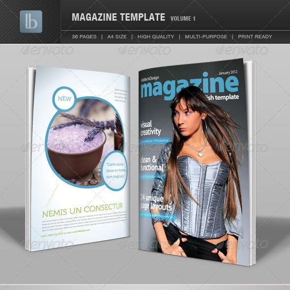 Magazine Template | Volume 1