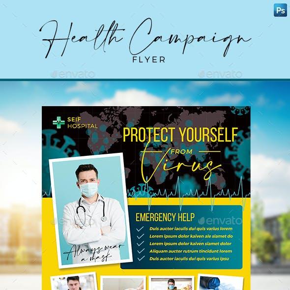 Health Campaign Flyer