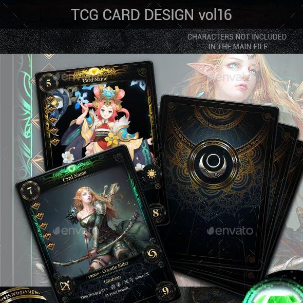TCG Card Design Vol 16