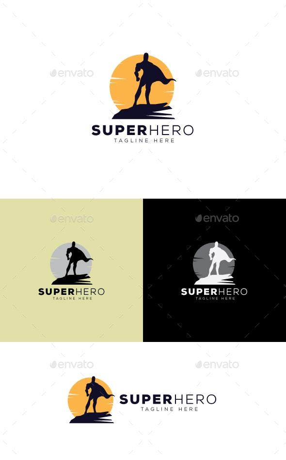 Super Hero Logo Template - Humans Logo Templates