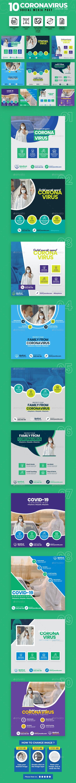 Covid-19 & Coronavirus 10 Social Media Post - Miscellaneous Social Media