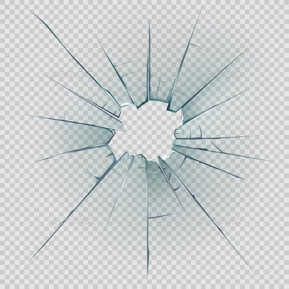 Broken and Cracked Glass
