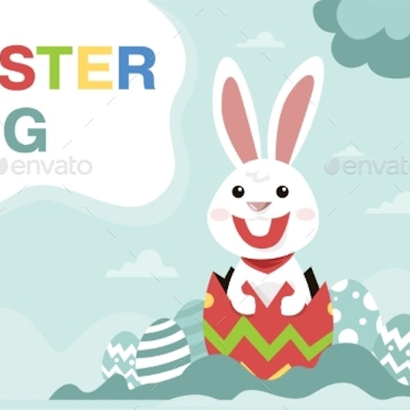 Placeit - Happy Easter Banner Background