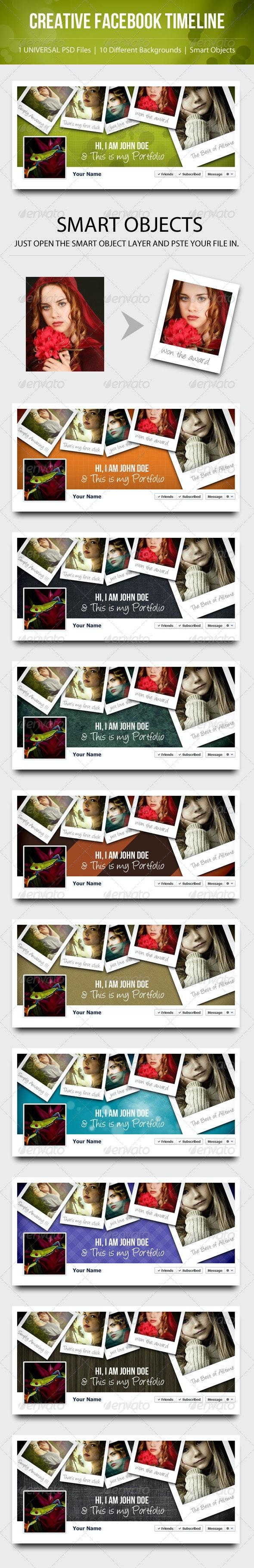 Creative Facebook TImeline - Facebook Timeline Covers Social Media