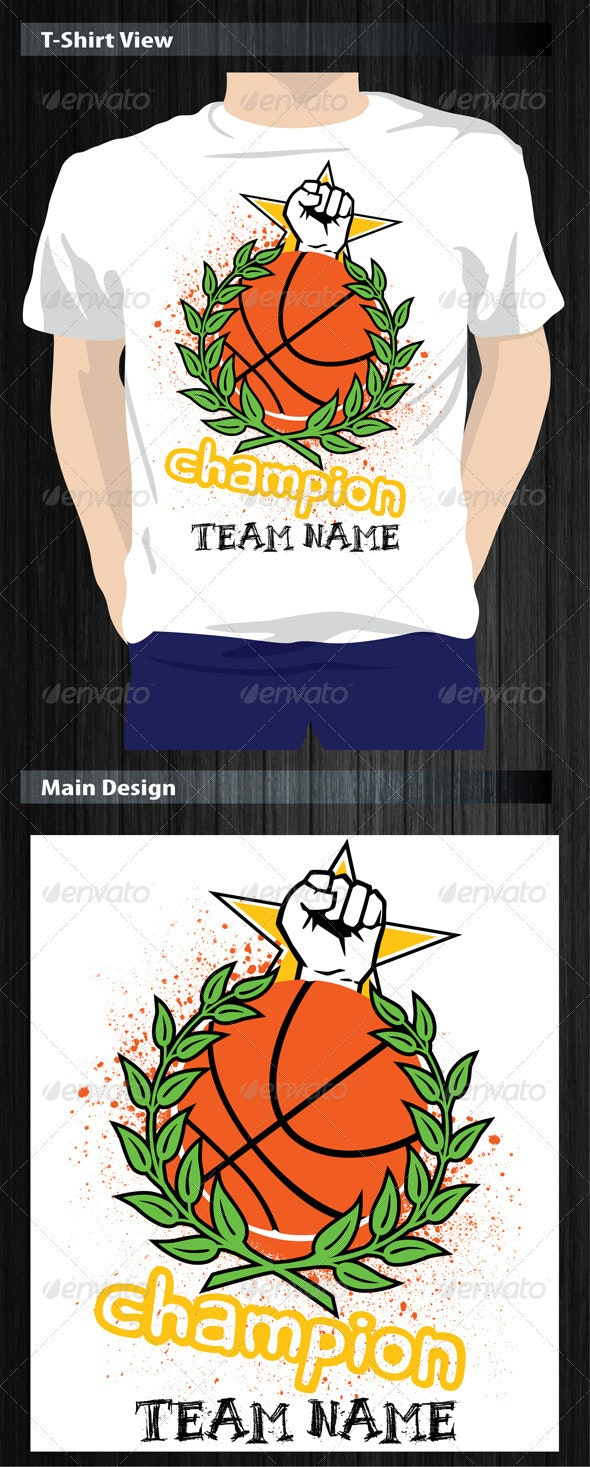 Basketball Champion T-Shirt
