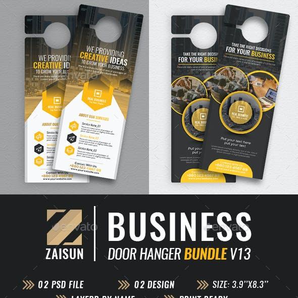Business Door Hanger Bundle V13