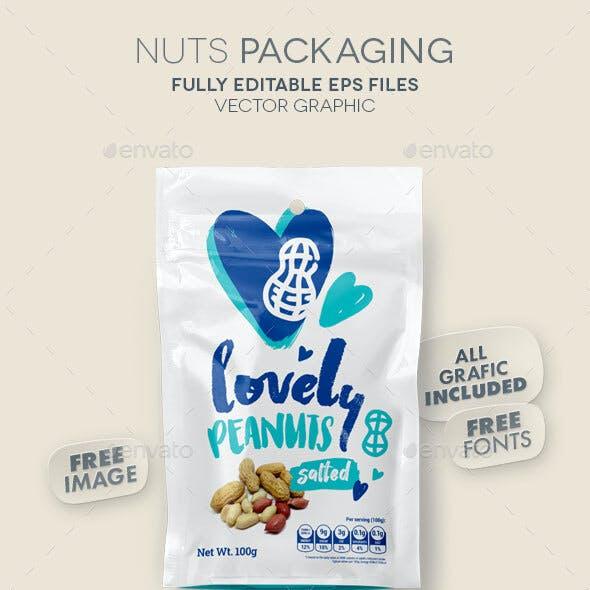 Nuts Packaging / Peanuts