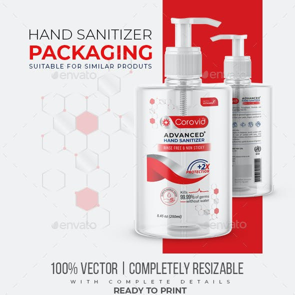 Hand Sanitizer Packaging