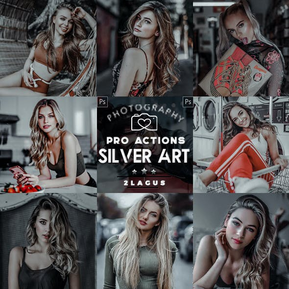Silver - Modern Portrait Actions