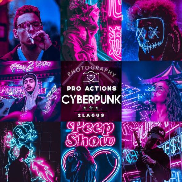 Cyberpunk - Life Styles Photoshop Action