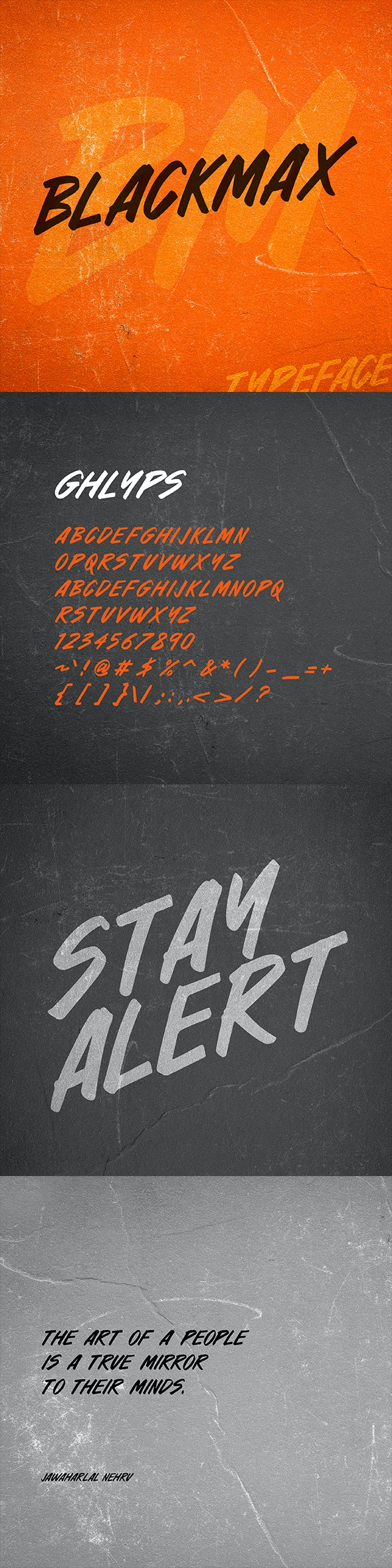 Blackmax - Hand-writing Script