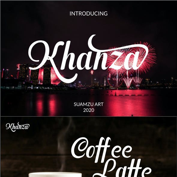 Khanza Reguler font