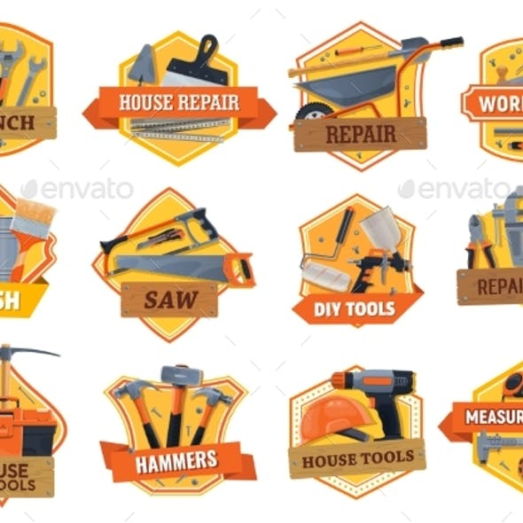 Work Tools Construction, House Repair and Building
