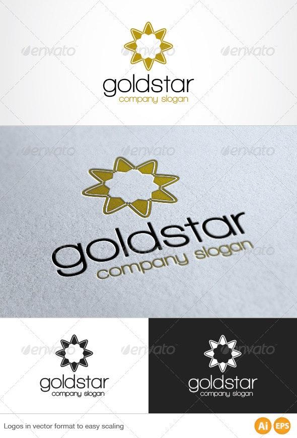 Gold Star Logo - Symbols Logo Templates