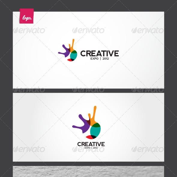 Creative Expo Logo Template