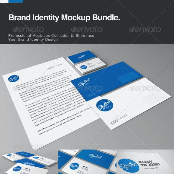 Brand Identity Mock-up Bundle