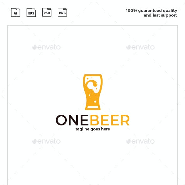 One Beer Logo