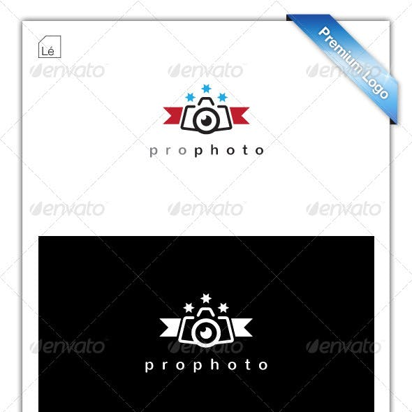 Pro Photo Photography Logo