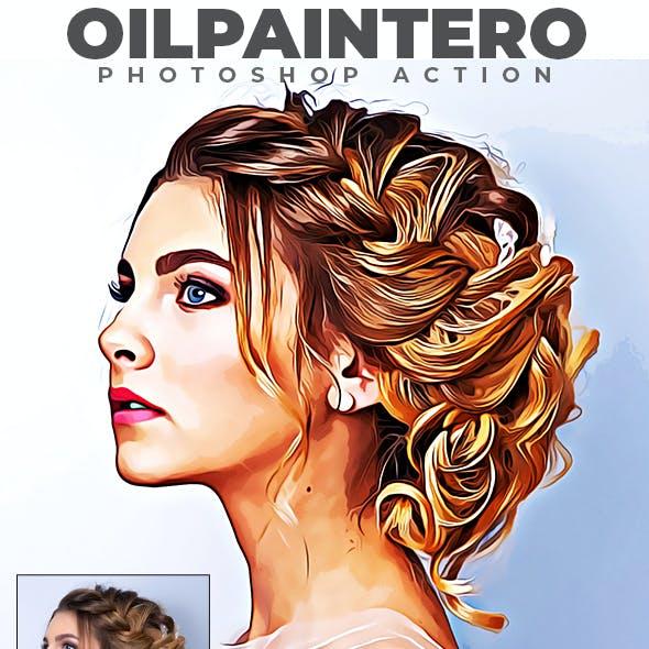 Oilpaintero - Photoshop Action