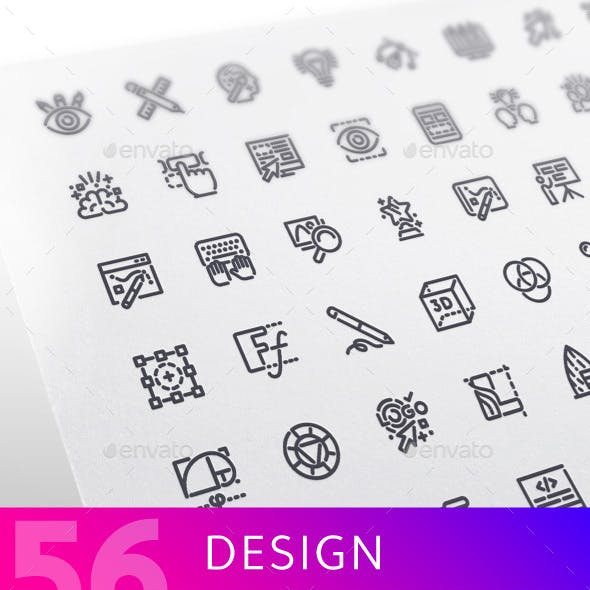 Design Line Icons Set