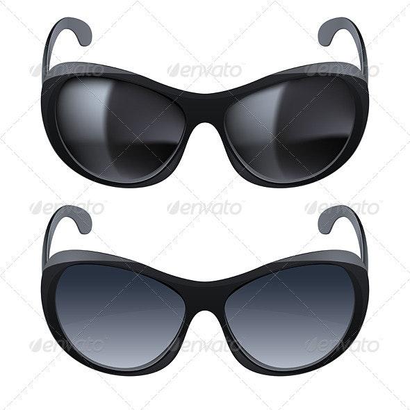 Realistic sunglasses - Objects Vectors