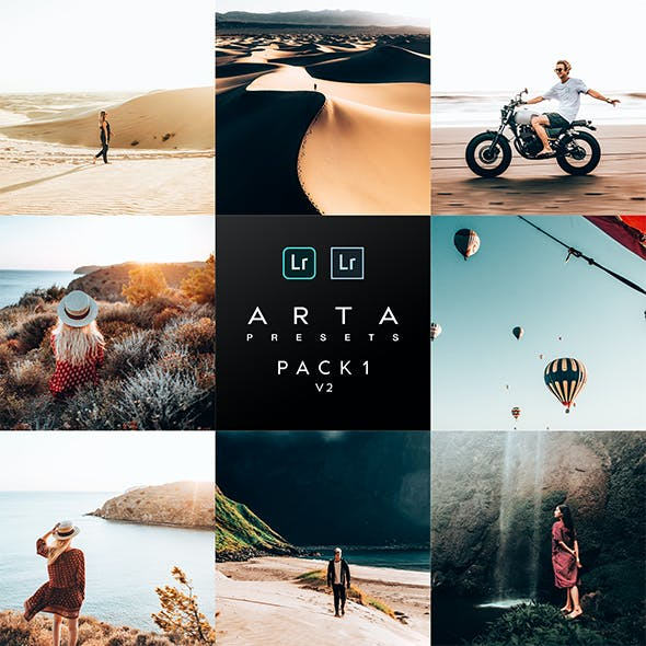 ARTA Preset Pack 1 v2 For Mobile and Desktop Lightroom